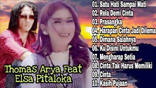 Thomas Arya Feat Elsa Pitaloka Full Album   Rela Demi Cinta   Lagu Malaysia Terbaru Terpopuler   Mp3