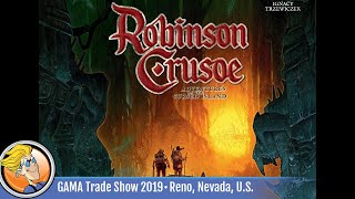Robinson Crusoe: Adventures on the Cursed Island – Mystery Tales — game overview at GTS 2019