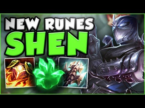 HAS RIOT GONE TOO FAR? SHEN CAN LITERALLY 1V5! NEW SHEN TOP GAMEPLAY SEASON 8! League of Legends