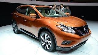 Новый Ниссан Мурано (Nissan Murano) 2015.