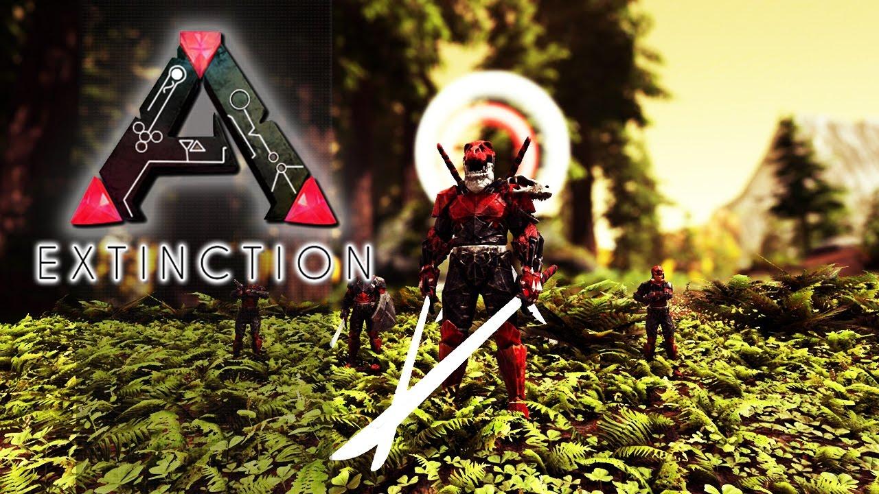 ARK EXTINCTION CORE EP09 - Raidando Varios Alphas & Um ...