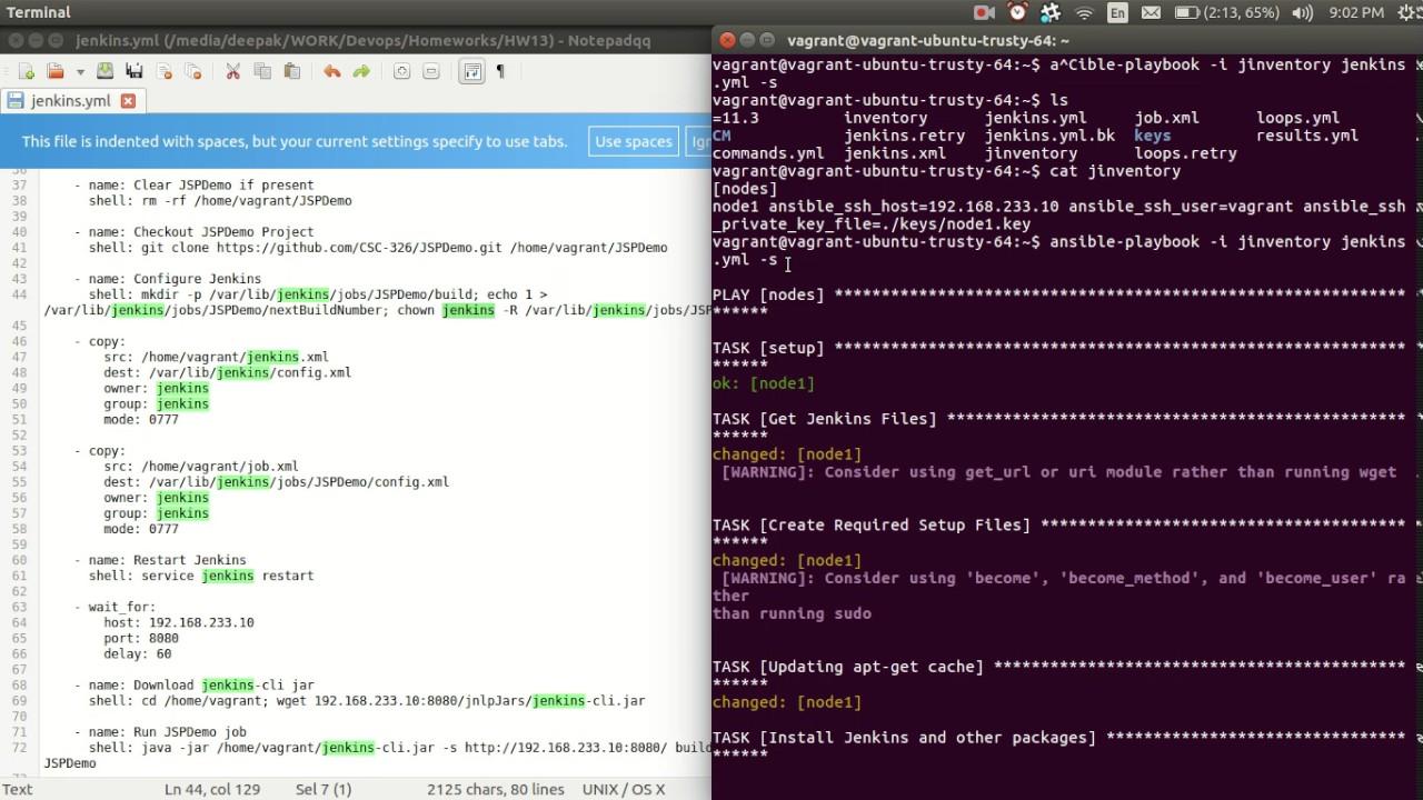 install jenkins ubuntu ansible