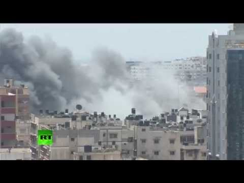 Photos of Gaza bombing 21st of july 2014