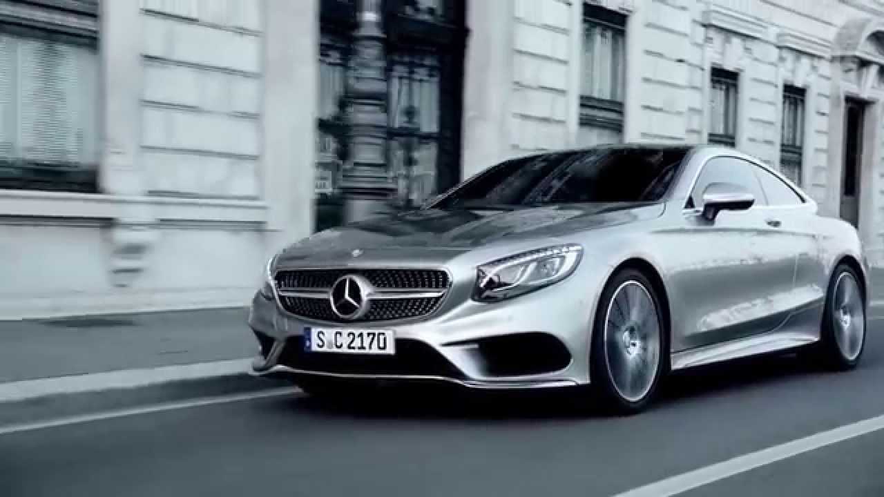 S Class Coupe >> The Mercedes-Benz S-Class Coupé. Innovation at its best ...