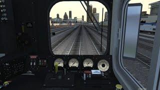 Train Simulator 2015 HD: Metra Chicago Bound Express Career Scenario (Gallery Car Cab Ride w/ Mods)