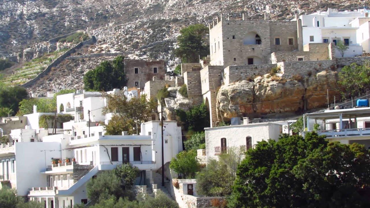 Apeiranthos Village On Naxos Mvi 2547 Youtube