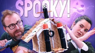 These Spooky Graham Cracker Haunted Houses Have the Worst Candy Money Can Buy | Well Done
