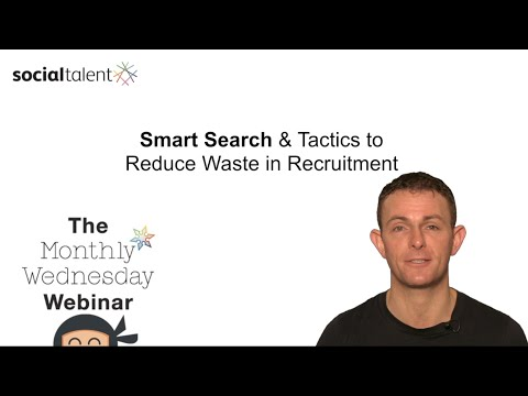 Smart Search Tactics in Recruitment