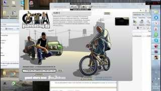 как установить мод на паркур для GTA San Andreas