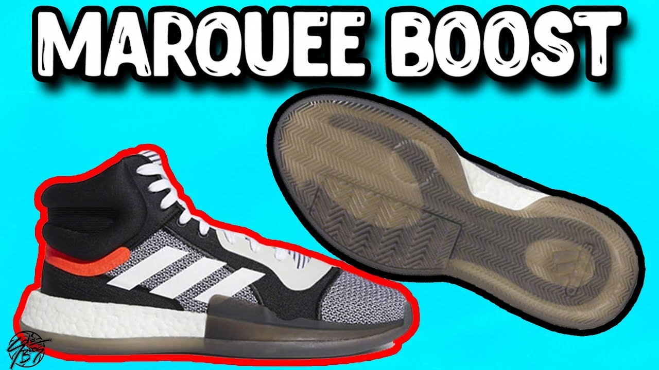 2c62a53d6ae632 Adidas Marquee Boost! New Basketball Shoe with Boost! The Sole Brothers