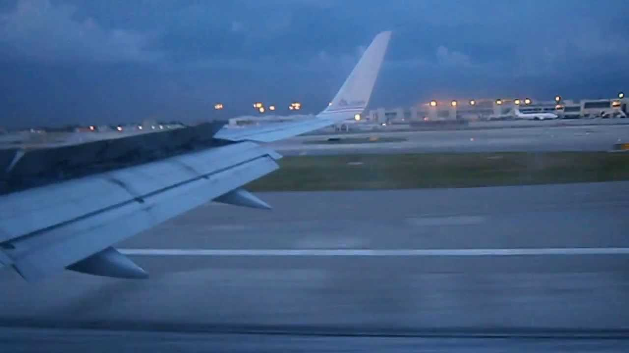 American Airlines 2050 Landing Miami International From