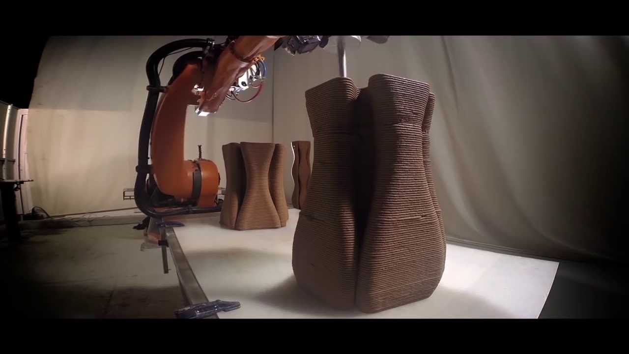 Pylos - Large scale 3D Printing by IAAC