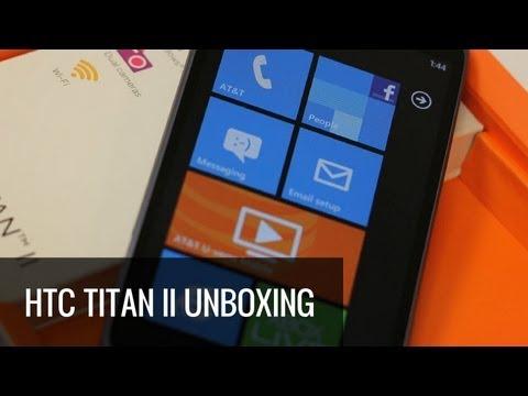 HTC Titan II Unboxing & Hands On