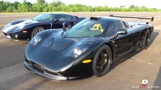 HARD Accelerations // Mosler Raptor GTR + Ford GT