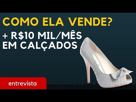 f2caa8a55 Como ela fatura mais de R$10 mil vendendo calçados | Trabalhar em Casa -  YouTube