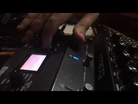 Boss RV-500 + Synth (Moog Mother-32)