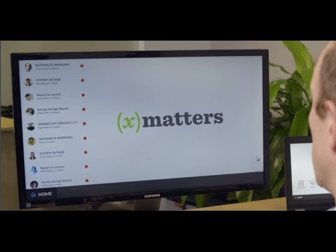 xMatters Overview Video