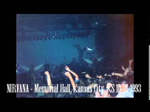 Nirvana - Memorial Hall, Kansas City, KS 10/21/1993