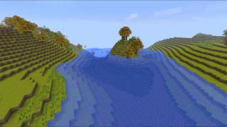 Scenic Minecraft Map - Niagra Falls