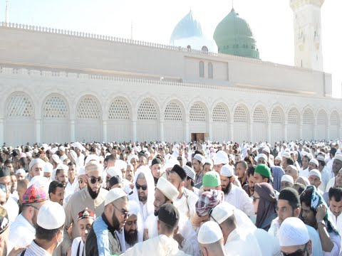 Historical Eid Khutba in Masjid Nabawi - Pir Saqib Shaami - FULL VIDEO