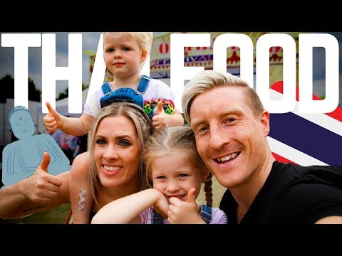 THAI FOOD FESTIVAL CAMBRIDGE 2019!! UK FAMILY VLOGGERS
