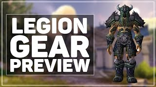 WoW Legion: New Gear Preview & Impressions!