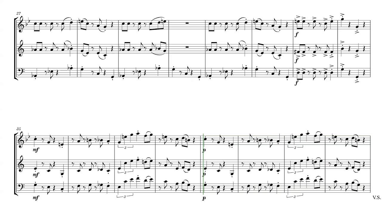 Super mario oboe sheet music