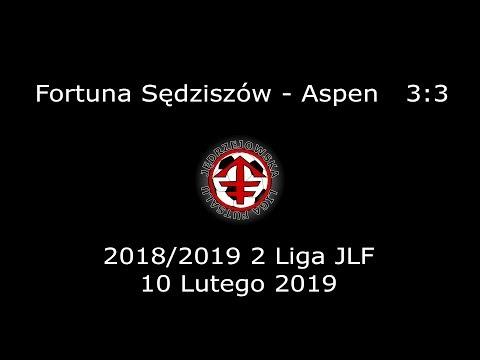 JLF 18/19 | 2 Liga JLF | Fortuna Sędziszów - Aspen