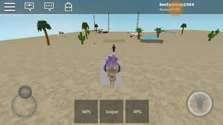 Playing roblox with my brother {sgt frog wars}
