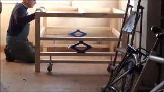 Jack Up Worktable For Diy Cnc Router