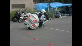 GL1800(ゴールドウイング) スラローム練習 長野県某所 赤坂