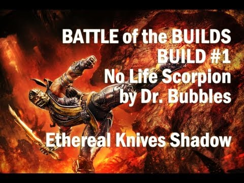 Path Of Exile Shadow Ethereal Knives Low Life Build - Battle Of The Builds #1