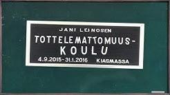 Jani Leinosen Tottelemattomuuskoulu Kiasmassa