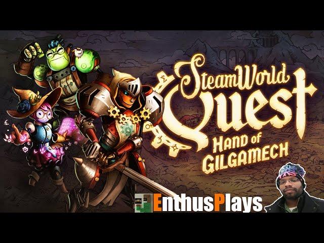 SteamWorld Quest: Hand of Gilgamech (Switch) - EnthusPlays   GameEnthus