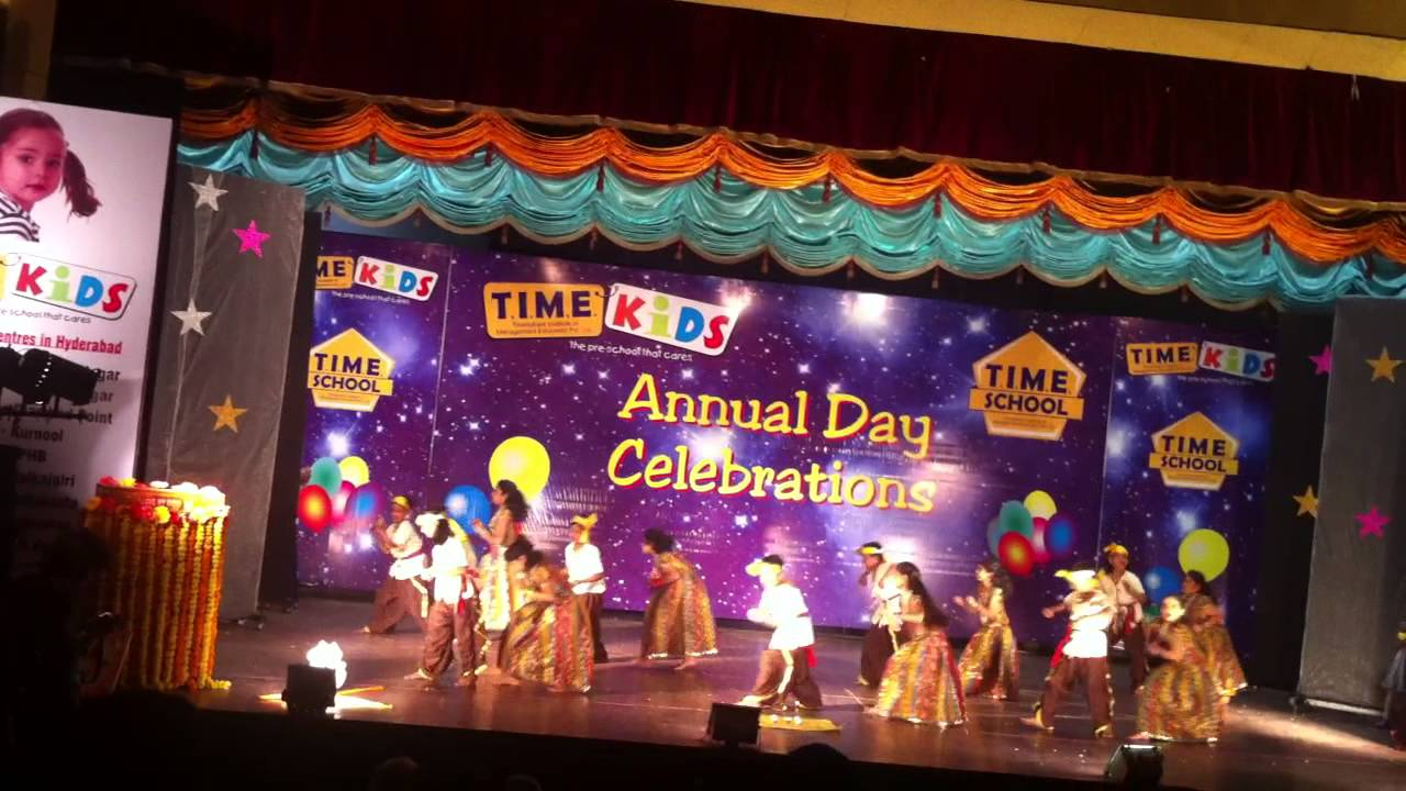 Stage decoration ideas for school annual day for Annual function decoration