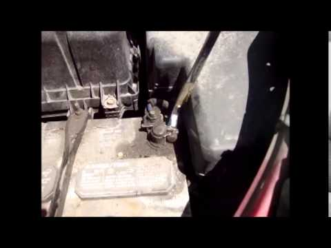 How To Change Battery Toyota Sienna 2008