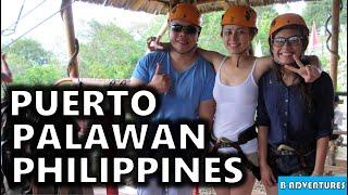 Philippines 2014, Episode 13 - Arriving in Puerto Princesa Palawan, Hotel, Wildlife, Zipline