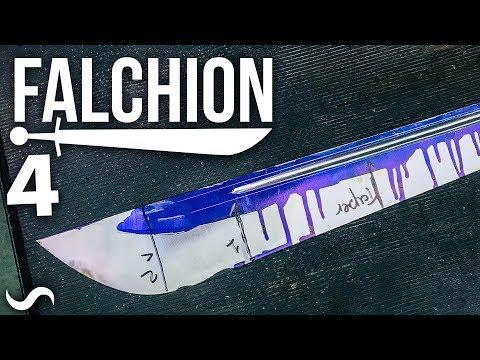 MAKING A FALCHION!!! Part 4