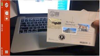 كيفية إضافة الواقع المعزز إلى بطاقة بريدية أو غيرها من صورة مطبوعة