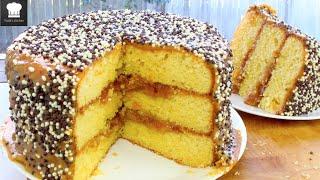 Basic Caramel Cake