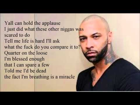 Joe Budden Ft. Ab-Soul - Cut from a different cloth lyrics video