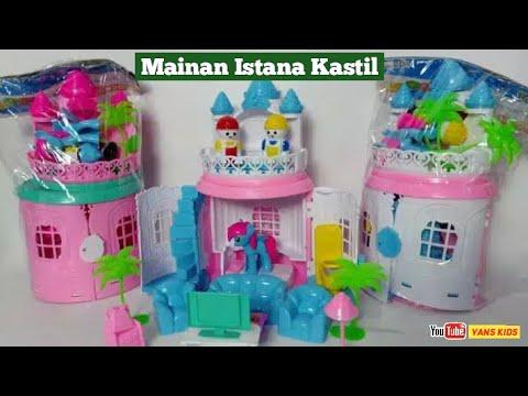 Mainan Rumah istana | Mainan kastil | Istana Barbie