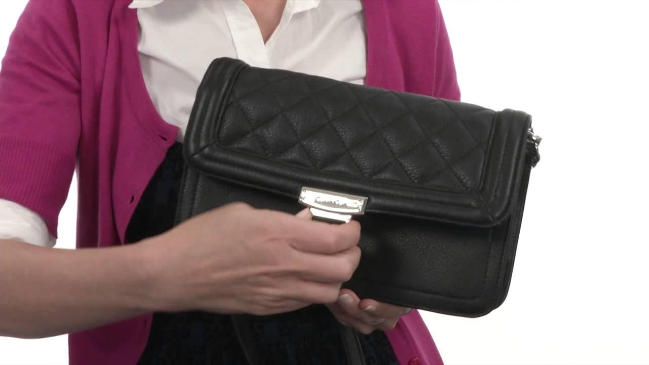 Calvin Klein Geneva Leather Crossbody H4AEO2HP SKU:#8360731 - YouTube : calvin klein quilted leather crossbody bag - Adamdwight.com
