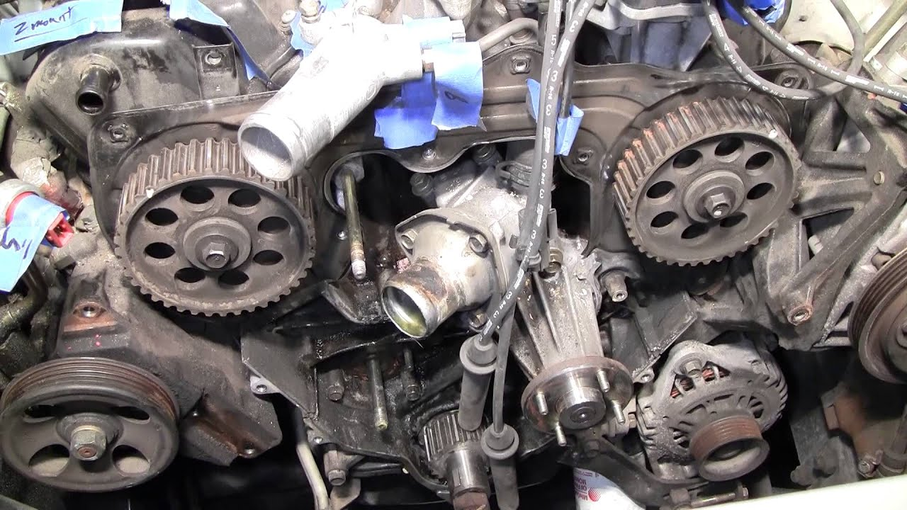 2002 Nissan Xterra VG33E Rebuild Step by Step Part 26 - Cam Gear Removal  Thoughts