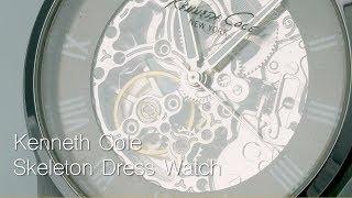 Kenneth Cole - Skeleton Dress Watch