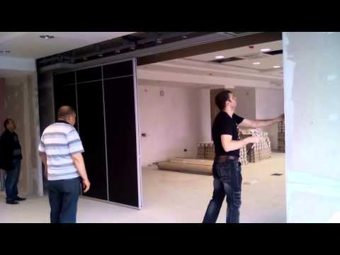 Раздвижные перегородки, раздвижные стены
