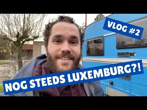 Vlog #2 | Nog steeds in Luxemburg?! | Wonen in een camper | Leven in een camper | Op reis met Stijn