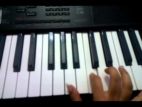 3 - A life full of love theme on keyboard