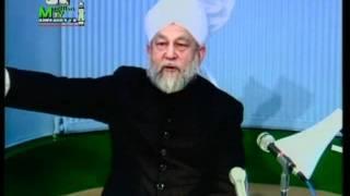 Arabic Darsul Quran 26th February 1994 - Surah Aale-Imraan verses 161-164 - Islam Ahmadiyya