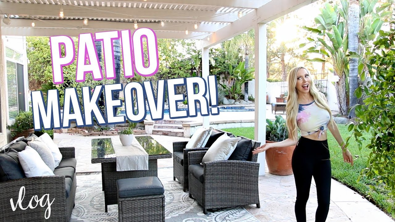 EPIC PATIO MAKEOVER ON A BUDGET!
